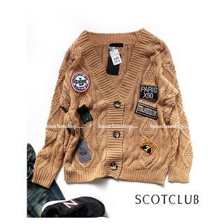 SCOT CLUB - 定価15,000円【新品】スコットクラブ★こなれカジュアルざっくり春カーディガン