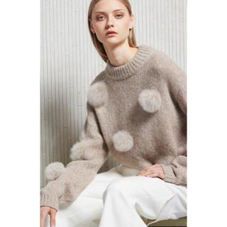 TOMORROWLAND - Tibi knit ポンポン