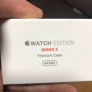Apple Watch - Apple Watch series5 titanium