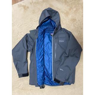 パタゴニア(patagonia)の美品 防寒 防水 パタゴニア リバーソルトジャケット 3in1(ウエア)