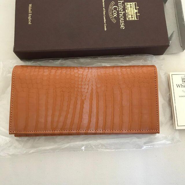 WHITEHOUSE COX(ホワイトハウスコックス)のWhitehouse Cox ホワイトハウスコックス 長財布■送料込 メンズのファッション小物(長財布)の商品写真