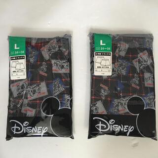 ディズニー(Disney)のメンズトランクス ディズニープリント  Lサイズ(トランクス)