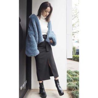 ムルーア(MURUA)のMURUA♡ベルデットペンシルスカート(ひざ丈スカート)