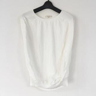 エポカ(EPOCA)のエポカ 半袖カットソー サイズ40 M - 白(カットソー(半袖/袖なし))