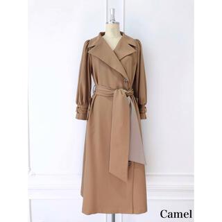 スナイデル(snidel)のHer lip to belted dress trench coat(トレンチコート)