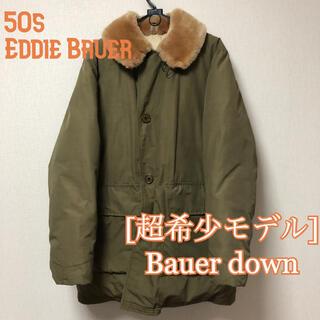 Eddie Bauer - 50s バウアーダウン 日の出タグ