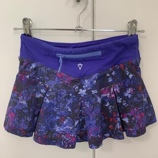 ルルレモン(lululemon)のivivva  パンツ付き スカート(スカート)