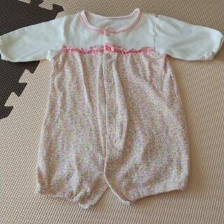 小花柄ロンパース  50~60 サイズ 新生児