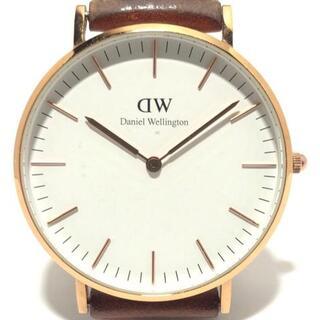 ダニエルウェリントン(Daniel Wellington)のダニエルウェリントン 腕時計 - B12 白(腕時計)