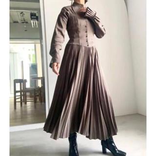 アメリヴィンテージ(Ameri VINTAGE)の完売品✨‼️❤️AMERI❤️SHAPELY CORSET DRESS(ロングワンピース/マキシワンピース)
