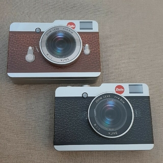 KALDI カメラ 缶 チョコレート 2個セット