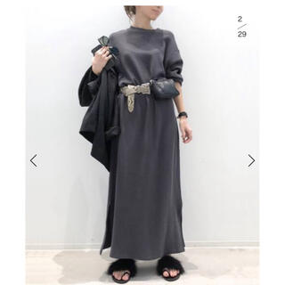 L'Appartement DEUXIEME CLASSE - アパルトモン  BILLY MILITARY THERMAL DRESS