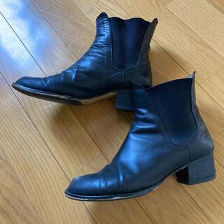 マーガレットハウエル(MARGARET HOWELL)のマーガレットハウエル サイドゴアブーツ 23.5cm(ブーツ)