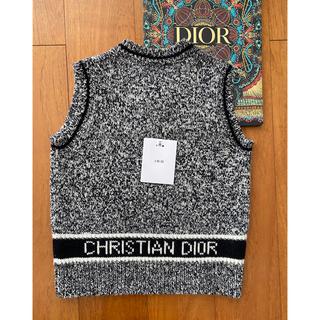 Christian Dior - Dior☆ディオール ノースリーブセーター 36