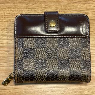 LOUIS VUITTON - ルイヴィトン ダミエ コンパクトジップ 二つ折り財布