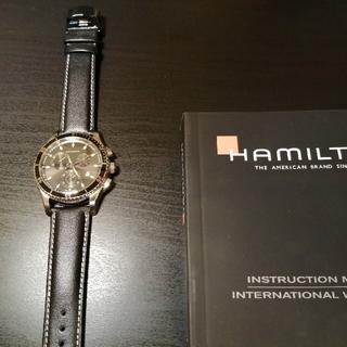 Hamilton - HAMILTON ハミルトン ジャズマスター シービュークロノ 美品