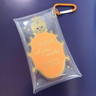 マジョリカマジョルカ(MAJOLICA MAJORCA)のマジョリカマジョルカ ファンクラブ特製クリアケース オレンジ(その他)
