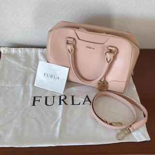 Furla - FURLA フルラ ハンドバッグ ドリー チャーム付き