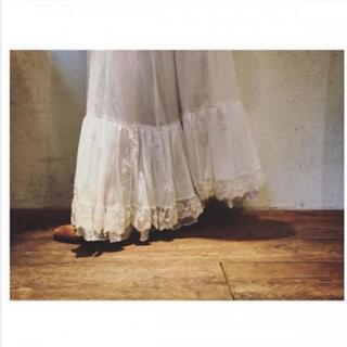 ファビアンルー(Fabiane Roux)のnowos レーススカート 新品タグ付(ロングスカート)