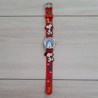 スヌーピー 腕時計 ユニバーサルスタジオジャパン キッズ ジャンク品(腕時計)