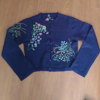 ケイタマルヤマ(KEITA MARUYAMA TOKYO PARIS)の💓ブルシェ様専用💓ケイタマルヤマ 刺繍カーディガン2枚💓 (カーディガン)