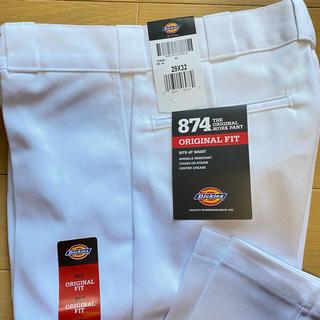 Dickies - 新品 未使用 ディッキーズ 874 29×32 ホワイト パンツ ワークパンツ