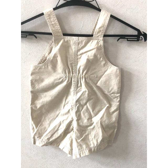 familiar(ファミリア)のFamiliar   ベビー服 70cm   ロンパース  白色 キッズ/ベビー/マタニティのベビー服(~85cm)(ロンパース)の商品写真