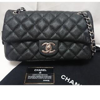 シャネル(CHANEL)のシャネル チェーンショルダー 黒 キャビア バッグ CHANEL(ショルダーバッグ)