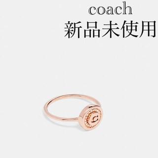 COACH - 【新品】コーチ パヴェ リング ローズゴールド