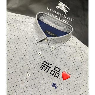 バーバリー(BURBERRY)の新品 バーバリーブラックレーベル 長袖シャツ3(シャツ)