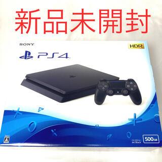 PlayStation4 - 【新品未開封】ps4 ジェットブラック 500GB