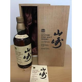 サントリー - 古酒 山崎12年 760ml 特級 ピュアモルト ウイスキー