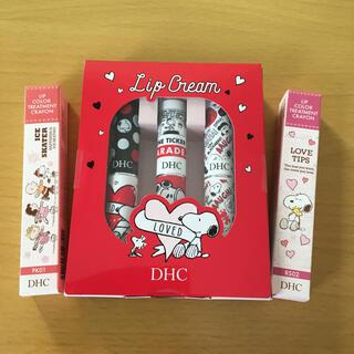 DHC - 【5本セット】 DHC スヌーピー  リップ 色付き  PK01  RS02