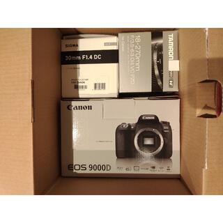 Canon - 新品 未使用 Cannon eos 9000d 高倍率ズームセット