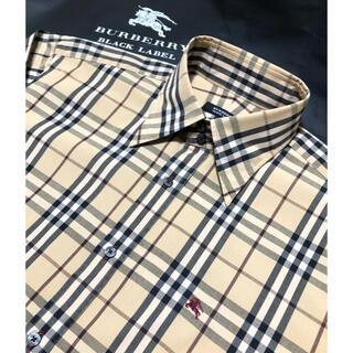 バーバリー(BURBERRY)の新品【日本製】バーバリーブラックレーベル 長袖シャツです(シャツ)