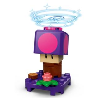 Lego - 毒キノコ (LEGO スーパーマリオ キャラクター パック 71386)
