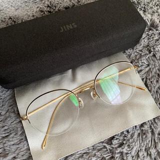 ジンズ(JINS)のJINS classic丸メガネ(サングラス/メガネ)