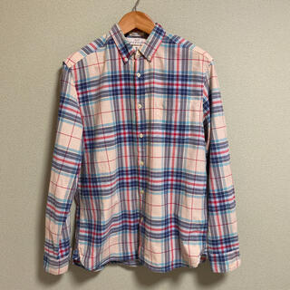 H&M - 【美品】H&M  L.O.G.G チェックシャツ ネルシャツ メンズ L サイズ