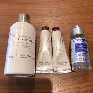 L'OCCITANE - ロクシタン テールドルミエール ボディミルク&ハンドクリーム他