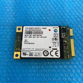 サムスン(SAMSUNG)のSamsung mSATA SSD 128GB MZMPC128HBFU 消去済(PCパーツ)