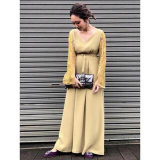 Ameri VINTAGE - LACE SLEEVE REFINED DRESS ドレス アメリ