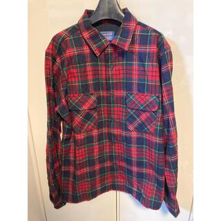 ペンドルトン(PENDLETON)のペンドルトン pendleton USA チェックシャツ 赤 ウール(シャツ)