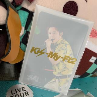 キスマイフットツー(Kis-My-Ft2)のKis-My-Ft2 LIVETOUR 2020 To-y2♡初回盤フォトカード(アイドルグッズ)