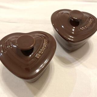 ルクルーゼ(LE CREUSET)の(ル・クルーゼ) ラムカン・ダムール レアなブラウン 2個セット 茶色(食器)