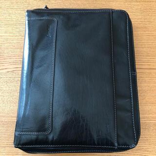 ファイロファックス(Filofax)のファイロファックス A5  ブラック ホルボーン ジップ 手帳(手帳)