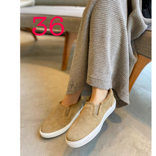 L'Appartement DEUXIEME CLASSE - CAMINANDO カミナンド Mouton Sneakers ベージュ