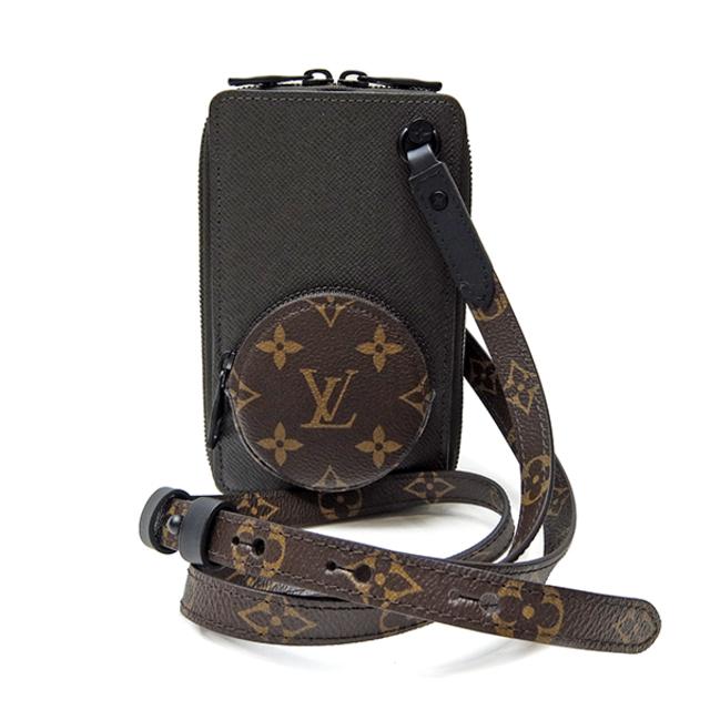 LOUIS VUITTON(ルイヴィトン)のルイヴィトン  ショルダーバッグ  フォンボックス タイガ M30581 メンズのバッグ(ショルダーバッグ)の商品写真