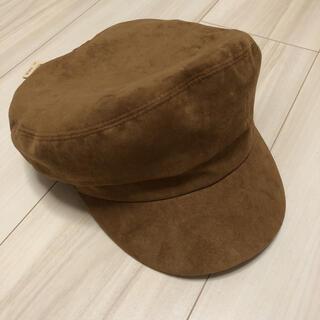 スタディオクリップ(STUDIO CLIP)のスタディオクリップ スエード マリン キャップ 帽子(キャスケット)