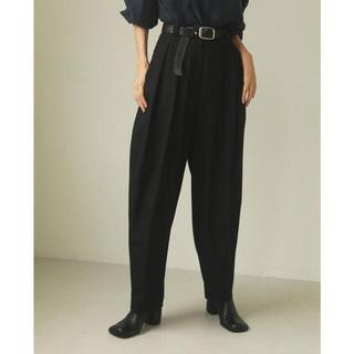 トゥデイフル(TODAYFUL)のTODAYFUL Finewool Tuck Trousers(カジュアルパンツ)