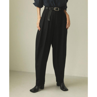 TODAYFUL - TODAYFUL Finewool Tuck Trousers